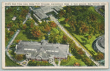 Des Moines Iowa~State Fair Grounds Birdseye~Agriculture Bldg~1929 PC