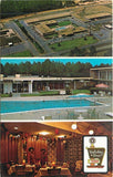 l~Dothan AL~Holiday Inn~Aerial View~Japanese Lanterns Dining Room~Poop~1971