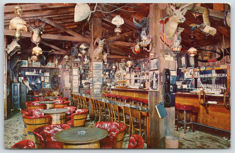 Deadwood SD~Old Style Bar~Pay Phone & Phone Book~Trophies~Cash Registers~1950s