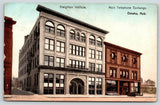 Omaha Nebraska~Main Telephone Exchange~Creighton Institute~Alley~c1908 Postcard