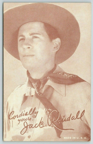 San Fernando CA* Western Actor Jack Randall~Died While Filming 1945~Boone Kemper