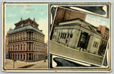 Rochester New York~Savings Bank~Security Trust c1910 Postcard Art Nouveau