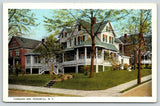 Peekskill New York~Forbush Inn~Wrap-Around Porch~White Pillars~Spring Trees~1922