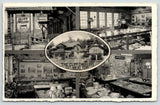 Gatlinburg Tennessee~Cliff Dwellers Souvenir Shop~Inside Out~Displays~1940s B&W