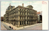 Philadelphia PA~4 Story Post Office~Arched Windows~D Klein & Bro~Flagpole~c1910