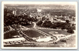 Rochester Minnesota~Soldier's Football Field~Baseball Diamond~Pool~1938 RPPC