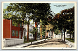 Fonda New York~ Picket Fences Before American Dream Homes~Trolley Tracks~c1915