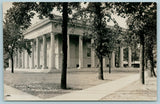 Wilmette IL~Columns Surround Town Hall~Trees Dot Grounds~CR Childs RPPC c1910 PC