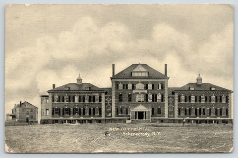 Schenectady New York~Finished Construction City Hospital~Landed in Bum Town~1907