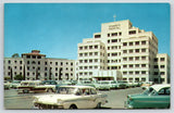 Tucson Arizona~St Mary's Hospital~1950s Woody Station Wagon~Cars~Postcard