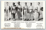 Chillicothe MO~Business College~State Tennis Winners~B Enfield Knob Noster~1935