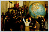 Washington DC World's Largest Unmounted Globe~11/1 Scale~Nat'l Geographic 1950s