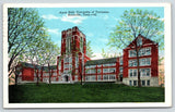 Knoxville~University of Tennessee Campus~Gothic Revival Ayres Hall~1926 Postcard
