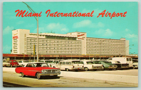 Miami Florida~International Airport~Gateway to America~Postcard
