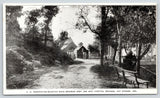 Hot Springs Arkansas~Gravel Mountain Drive~Army Navy Hospital Grounds~c1905 B&W