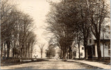 Thetford Vermont~Main Street~Homes~Clock Tower Building~Dirt Road~1916 RPPC