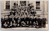 Springfield IL~Concordia State Teachers College~Young Men~Fleckenstein~1908 RPPC