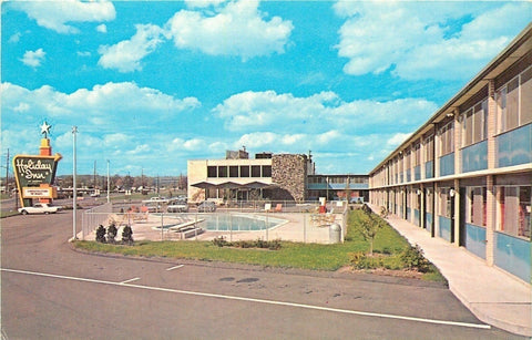 Horseheads New York~Holiday Inn~602 Corning Road ~1950s Postcard