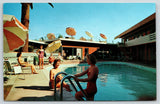 Phoenix Arizona~Bali-hi Motor Hotel~Bathing Beauties in Motel Pool~1950s Petley
