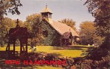 Rye Beach NH~St Andrews by the Sea~Ivy Covered Church~Wishing Well~1970s PC