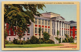 Tuscaloosa~University of Alabama~Gorgas Administration~Big Columns 1932 Linen