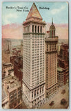 New York City~Bankers Trust Co Building~Replaced Gillender~Wall @ Broad St~c1910