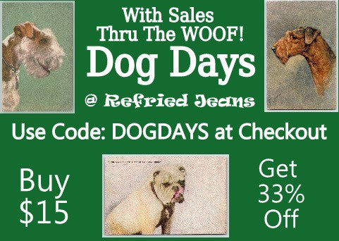 Refried Jeans Postcards
