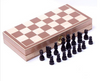 Folded Wooden Chess Chessboard PVC Chessman Adult Children's Puzzle Chess Toy WJ525 Top Grade International Checkers Carry-home