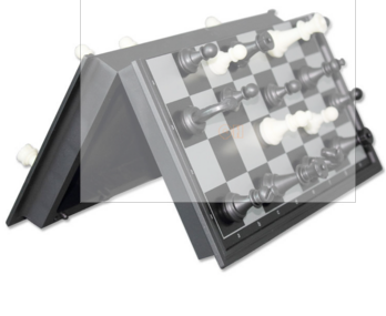 checkers chess training chess 24x24x2.1 2 in1 magnetic foldable dual chessboard in strengthening