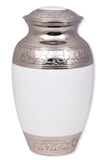 cremation urn for ashes , urn for ashes , container for ashes, ashes storage jar, human ashes container, large urn , british urn, adult ashes urn, cremation urn for human ashes, funeral memorial burial remembrance URN, affordable price urn, metal urn, white urn, free delivery urn, quick delivery urn