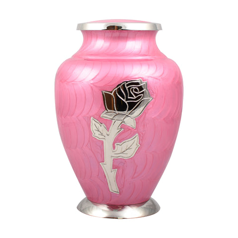 cremation urn for ashes , urn for ashes , container for ashes, ashes storage jar, human ashes container, large urn , british urn, adult ashes urn, cremation urn for human ashes, funeral memorial burial remembrance URN, affordable price urn, metal urn, pink urn, free delivery urn, quick delivery urn