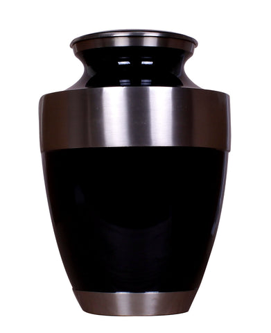 Black cremation urn for ashes , black urn, black ashes urn, urn for ashes , container for ashes, ashes storage jar, human ashes container, large urn , british urn, adult ashes urn, cremation urn for human ashes, funeral memorial burial remembrance URN, affordable price urn, metal urn, blue urn, free delivery urn, quick delivery urn, best quality urn