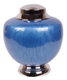 Blue urn, blue cremation urn, blue urn for ashes, blue ashes urn, Free delivery urn quick delivery urn affordable price urn best quality urn Funeral memorial remembrance human ashes container mini adult child pet ashes urn teardrop brass large urn, Funeral memorial remembrance human ashes container mini adult child pet ashes urn teardrop brass large medium small urn