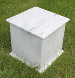 Marble extra large cremation urn for ashes , Urn for two , double urn , double ashes container, horse ashes urn, urn for large pet, horse urn, free delivery urn, best quality urn, quick delivery urn, cheap price urn, outdoor urn