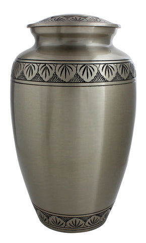 Grey Pewter Cremation Urn, grey ashes urn, grey urn, cremation urn for ashes , urn for ashes , container for ashes, ashes storage jar, human ashes container, large urn , british urn, adult ashes urn, cremation urn for human ashes, funeral memorial burial remembrance URN, affordable price urn, metal urn, blue urn, free delivery urn, quick delivery urn