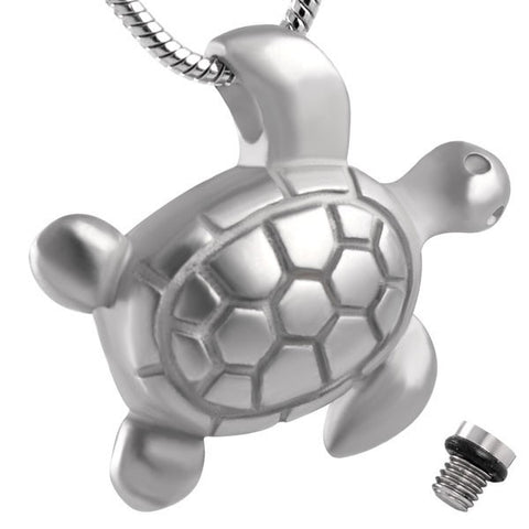 Turtle Ashes Pendant mini urn necklace ash container