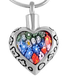 Rainbow Heart Pendant