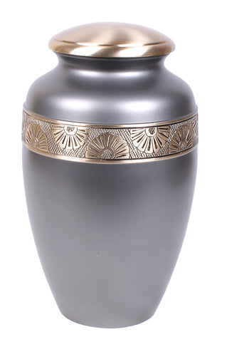 Grey urn, grey ashes urn, grey cremation urn, grey urn for ashes , cremation urn for ashes , urn for ashes , container for ashes, ashes storage jar, human ashes container, large urn , british urn, adult ashes urn, cremation urn for human ashes, funeral memorial burial remembrance URN, affordable price urn, metal urn, blue urn, free delivery urn, quick delivery urn