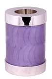 tealight urn, purple tealight urn, candle urn, small tealight urn, small candle urn, tealight cremation ashes urn, candle cremation ashes urn