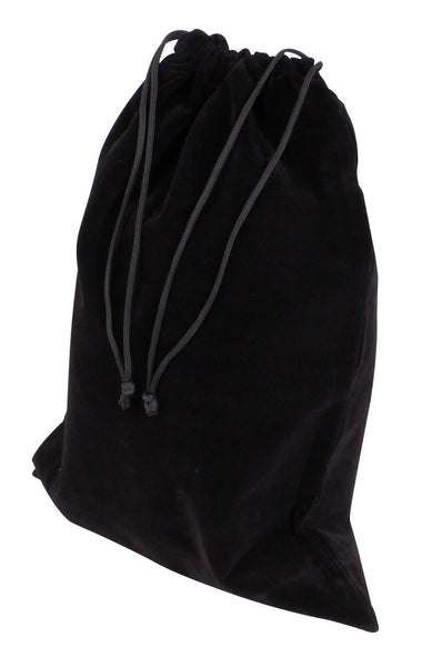 Velvet Pouch for Cremation urns Funeral memorial Urns for Ashes Black Ashes Bag