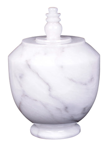 white marble urn, grey marble urn, outdoor urn, marble cremation urn, marble ashes urn, garden urn, urn for outside, white decorative urn, white marble decorative urn, white ornamental urn,