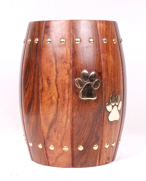 solid wood pet urn, Funeral memorial remembrance human ashes container mini adult child pet ashes urn teardrop brass large medium small urn