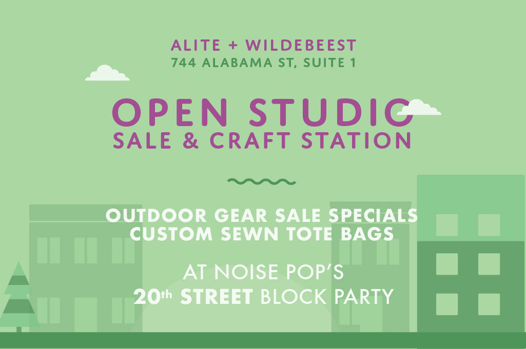20th Street Block Party Sample Sale and Craft Station!