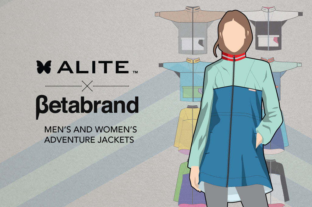 Alite X Betabrand Collab: Men's and Women's Adventure Jackets