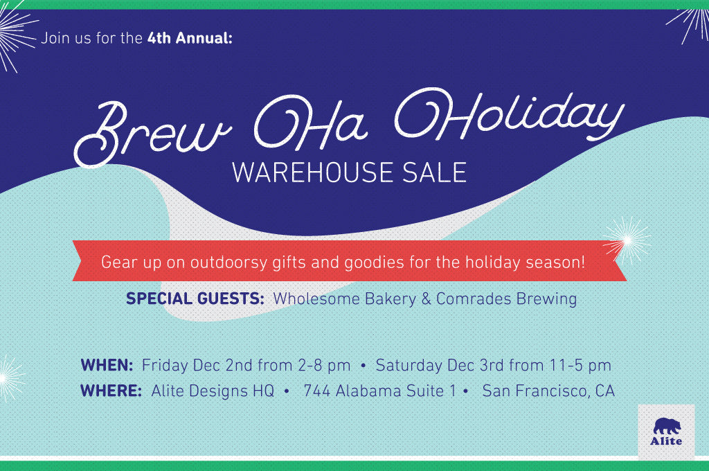 Brew-Ha-Holiday Warehouse Sale
