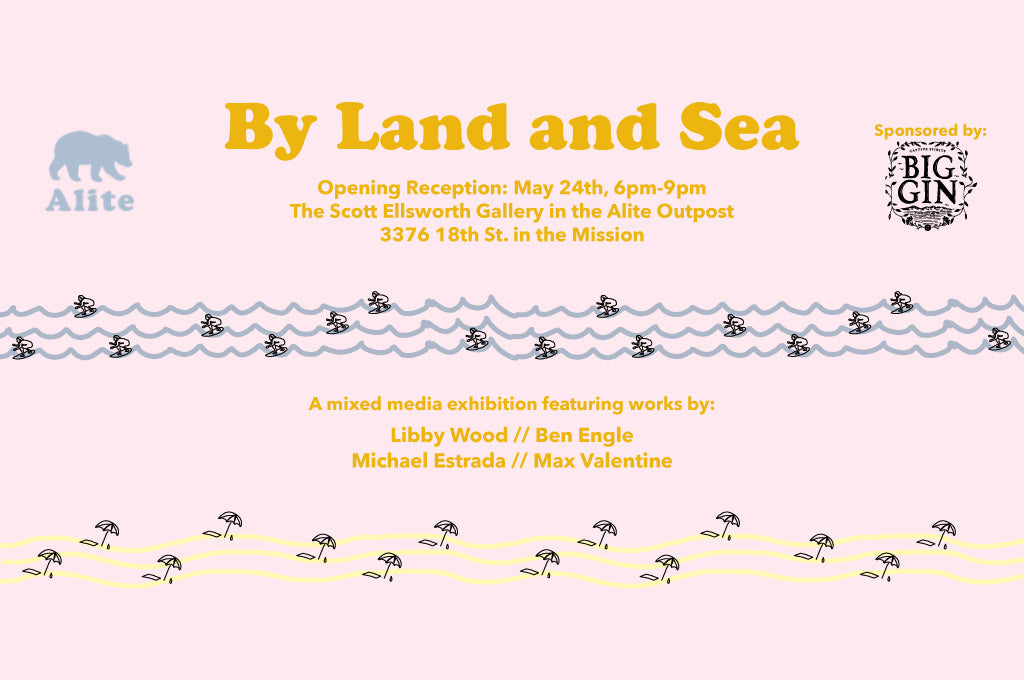 """By Land and Sea"" Group Art Show"