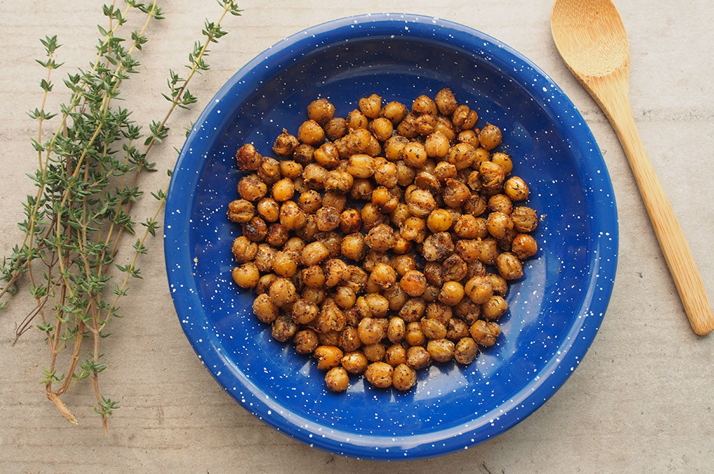 Camp Snack: Crunchy Middle Eastern Spiced Chickpeas