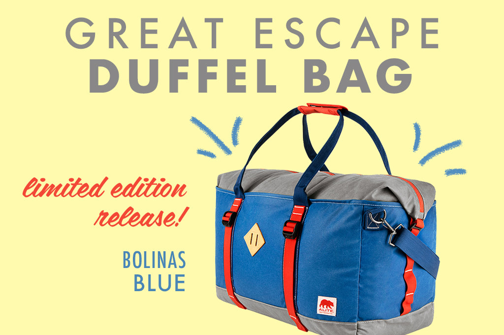 Limited Edition Duffel Bag + Festival Gear Guide