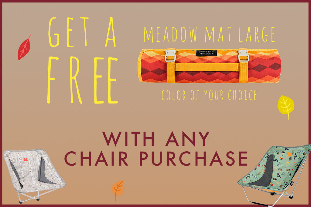 FREE Meadow Mat Large w/ Chair + STICKERS are here