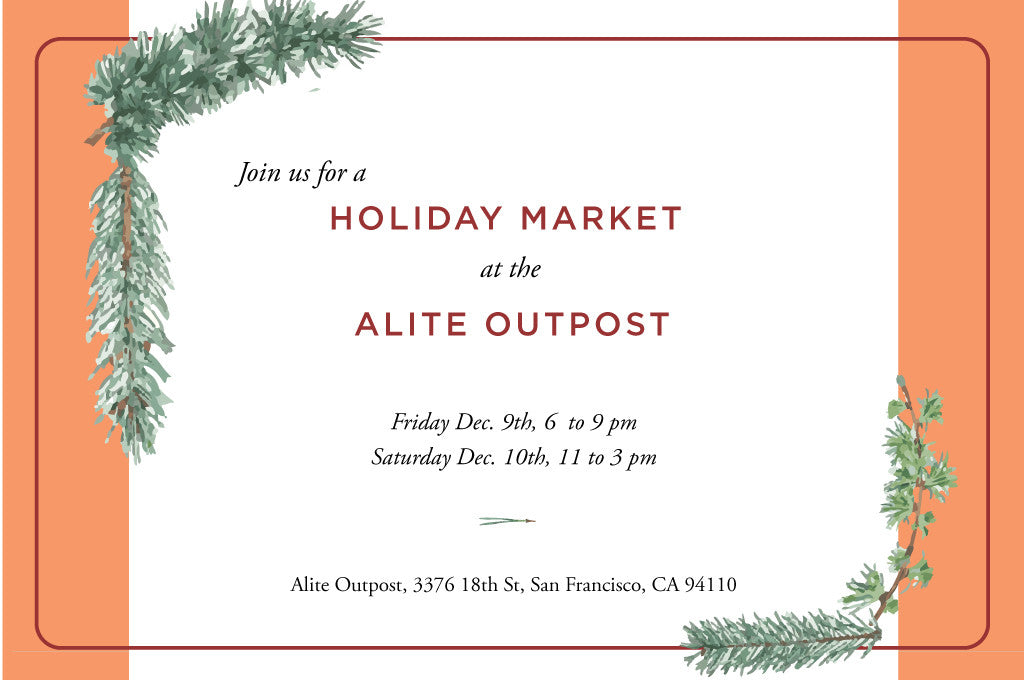 Holiday Market at the Alite Outpost